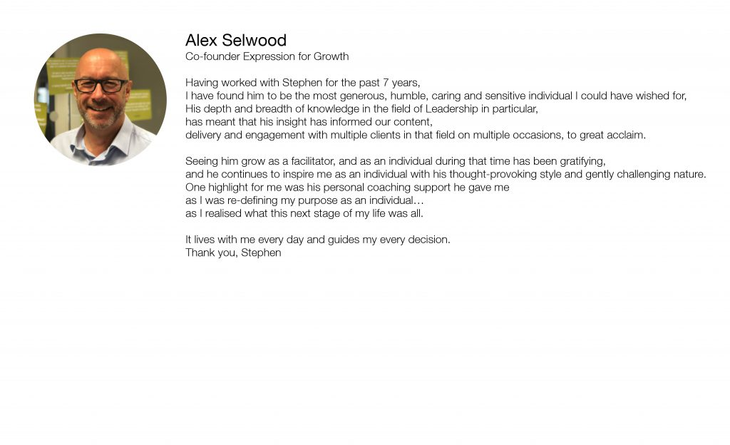 Alex Selwood Referal Template