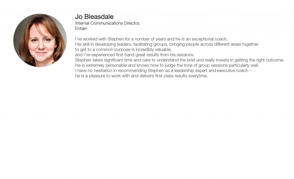 Jo Bleasdale Referal Template